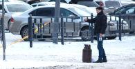 Мужчина, угрожавший взорвать газовый баллон в центре Астаны