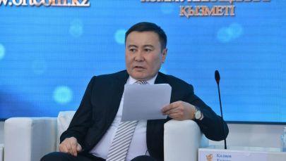 Директор ТОО Научно-исследовательский центр Молодежь Талгат Калиев