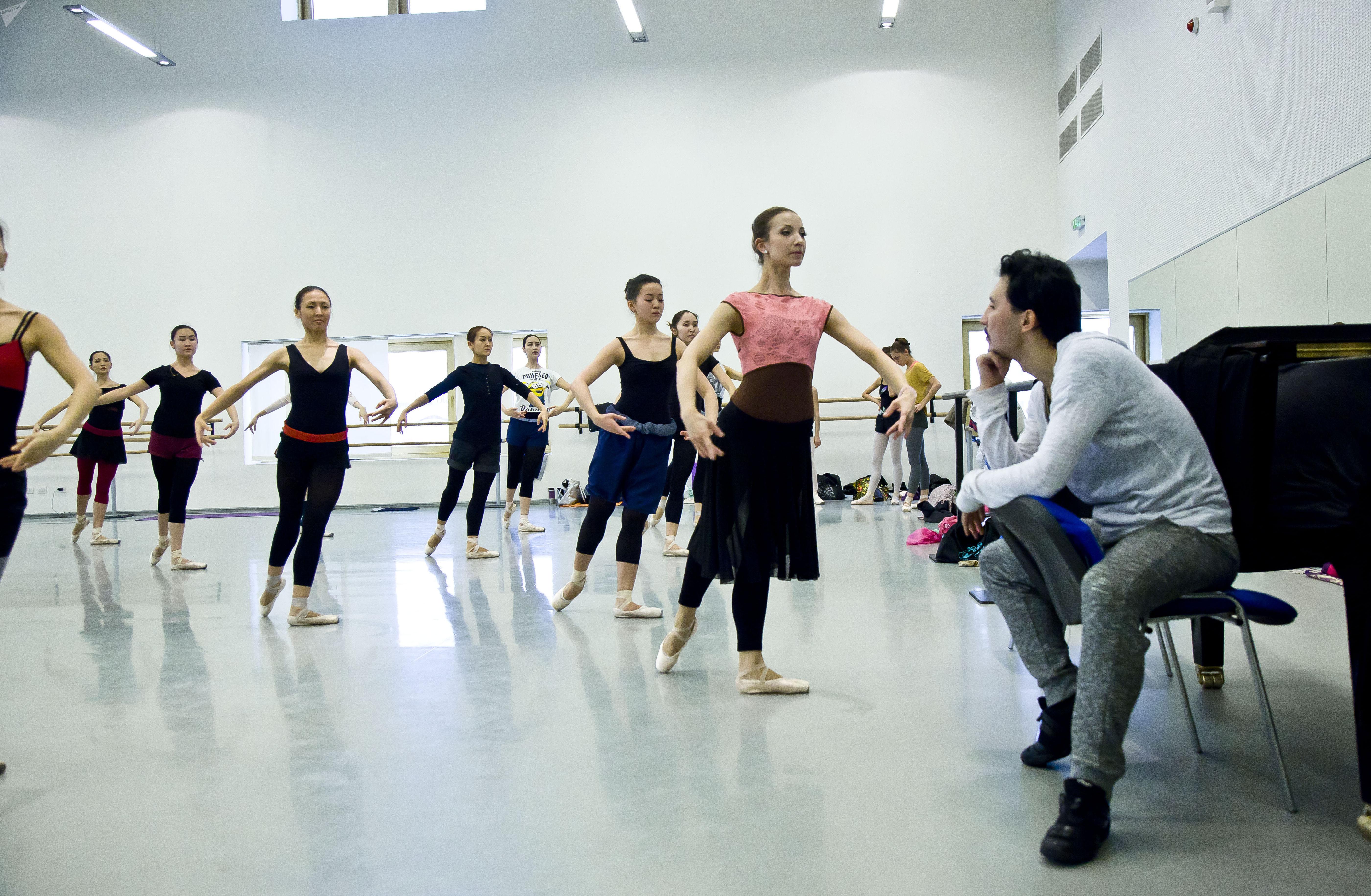 Репетиция в Астана Опера
