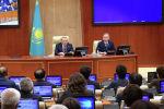 Нұрсұлтан Назарбаев мәжілістің пленарлық отырысында