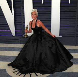 Леди Гага на церемонии Оскар