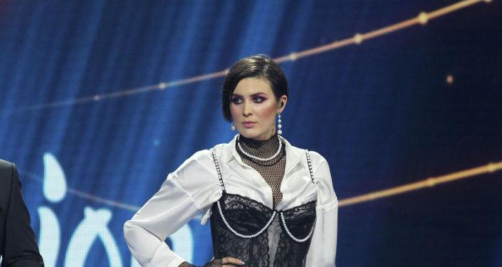 Украинская певица Maruv (Анна Корсун), архивное фото