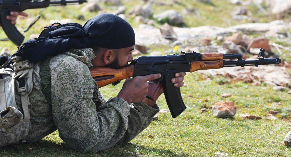 Военнослужащие в Сирии, архивное фото