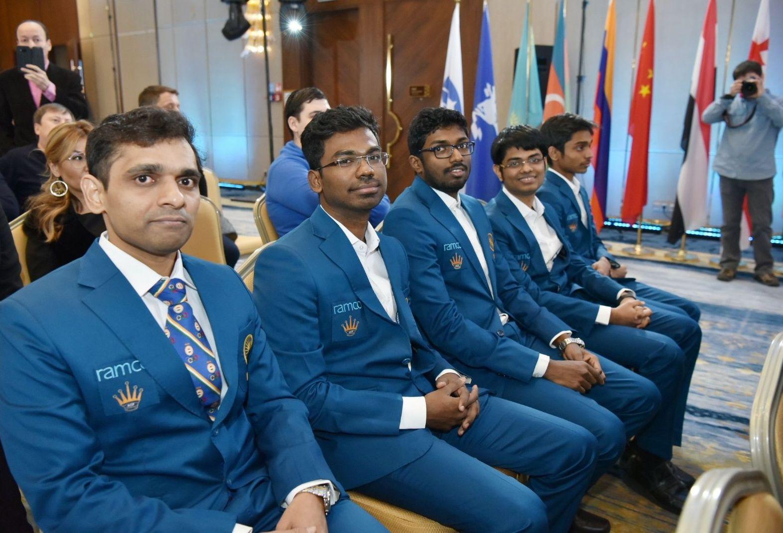 Открытие Чемпионата мира по шахматам в Астане