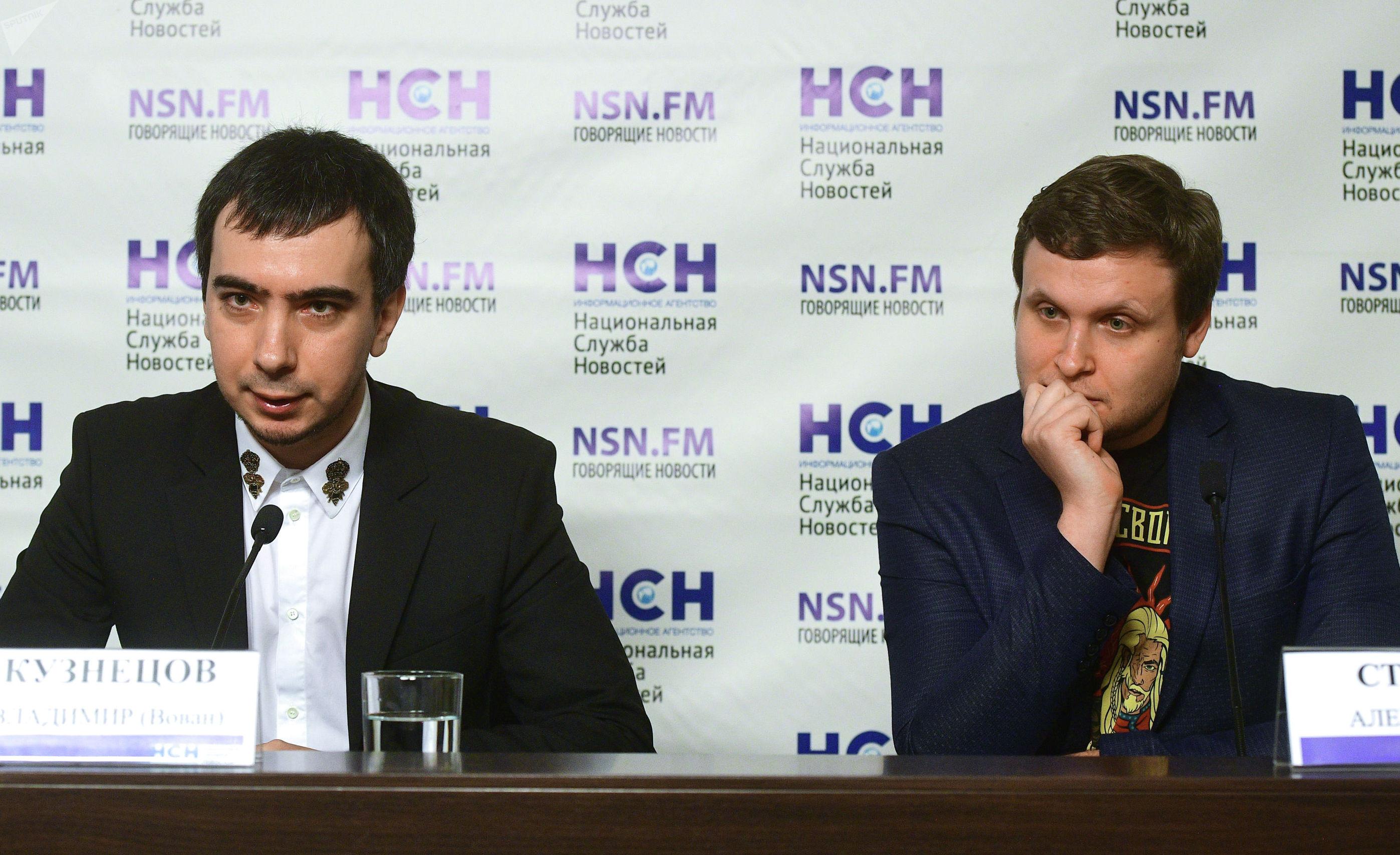 Пранкеры Вован (Владимир Кузнецов) и Лексус (Алексей Столяров)