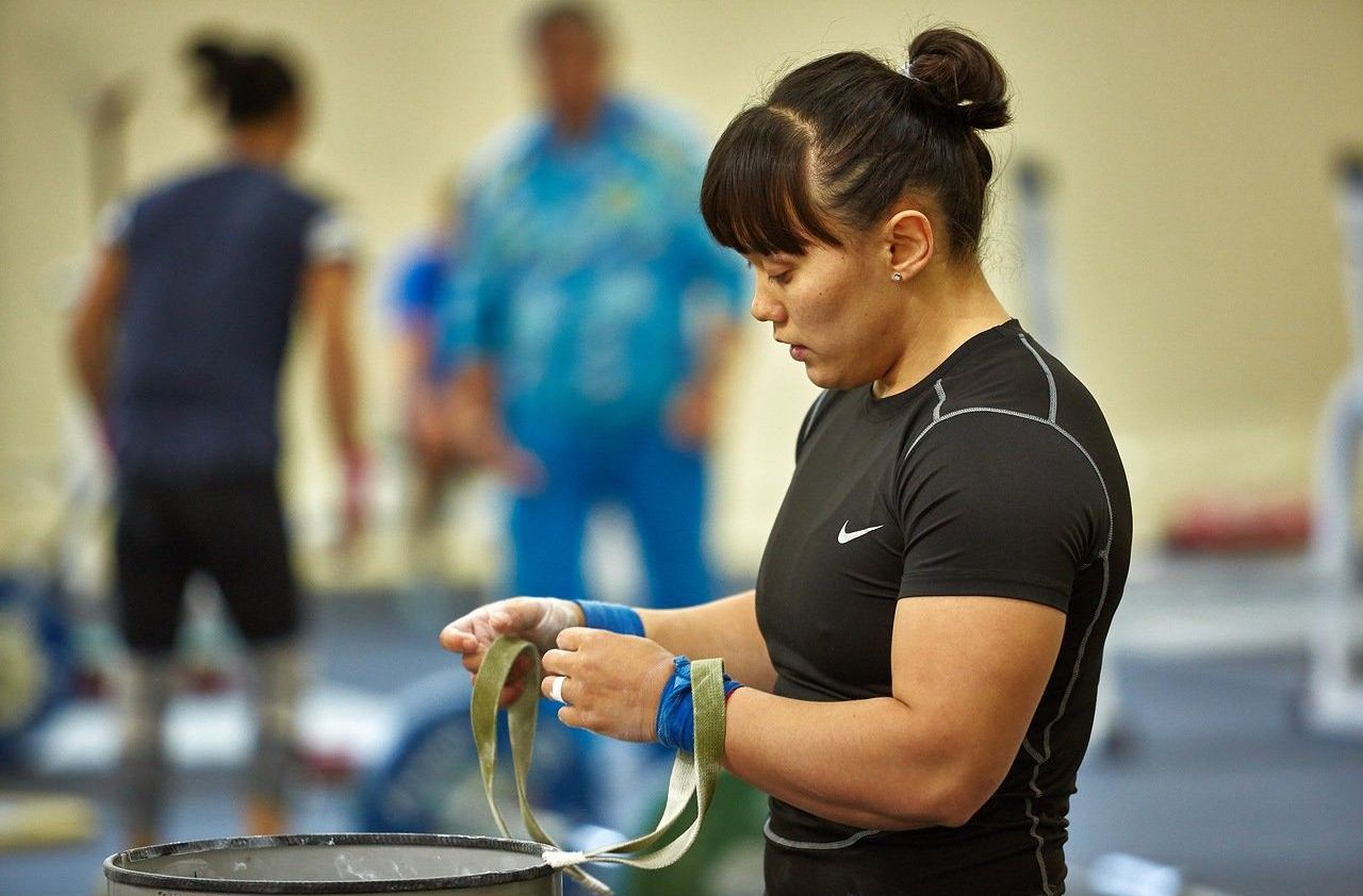 Ауыр атлет Әсем Садықова