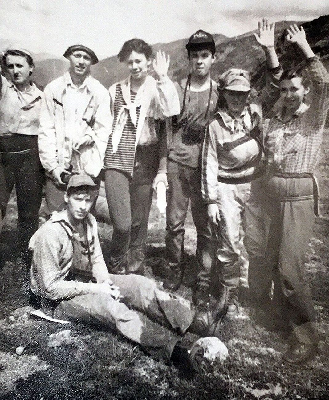 Последнее фото группы Коровиной