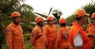 Самолет разбился в Колумбии