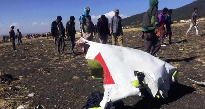 ұшақ Ethiopian Airlines