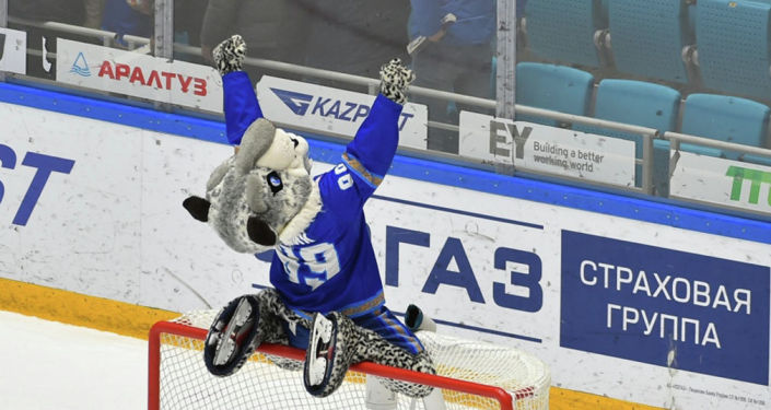 Талисман хоккейного клуба Барыс