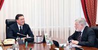 Встреча премьер-министра Казахстана с послом РФ