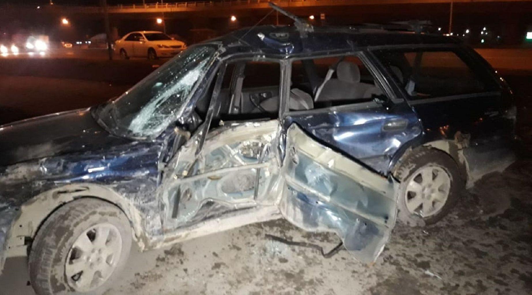 В результате ДТП пострадали два водителя