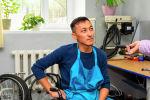 Ардак Оторбаев - специалист общественного объединения инвалидов Независимая жизнь ДОС
