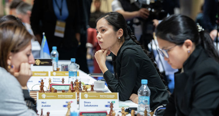 Казахстанки в седьмом туре чемпионата мира по шахматам в Астане уступили сборной Грузии