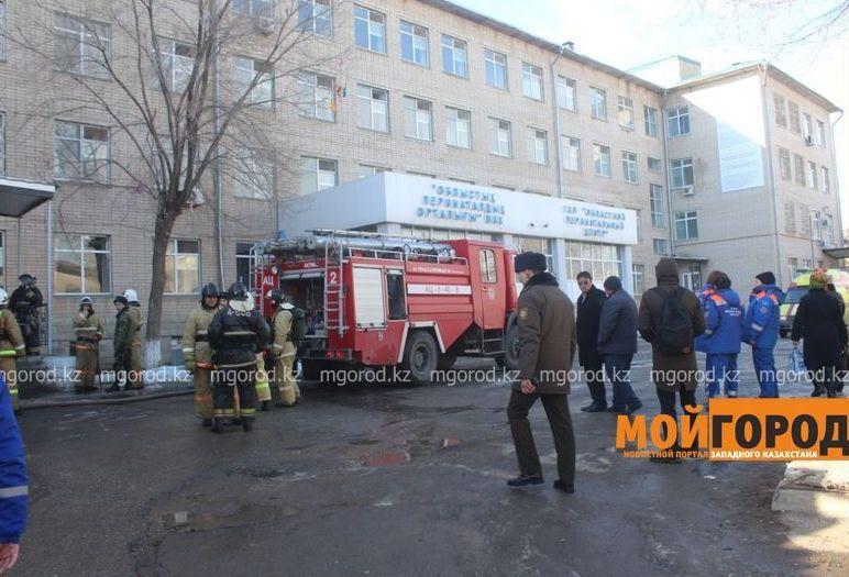 Пожар произошел в роддоме Актобе