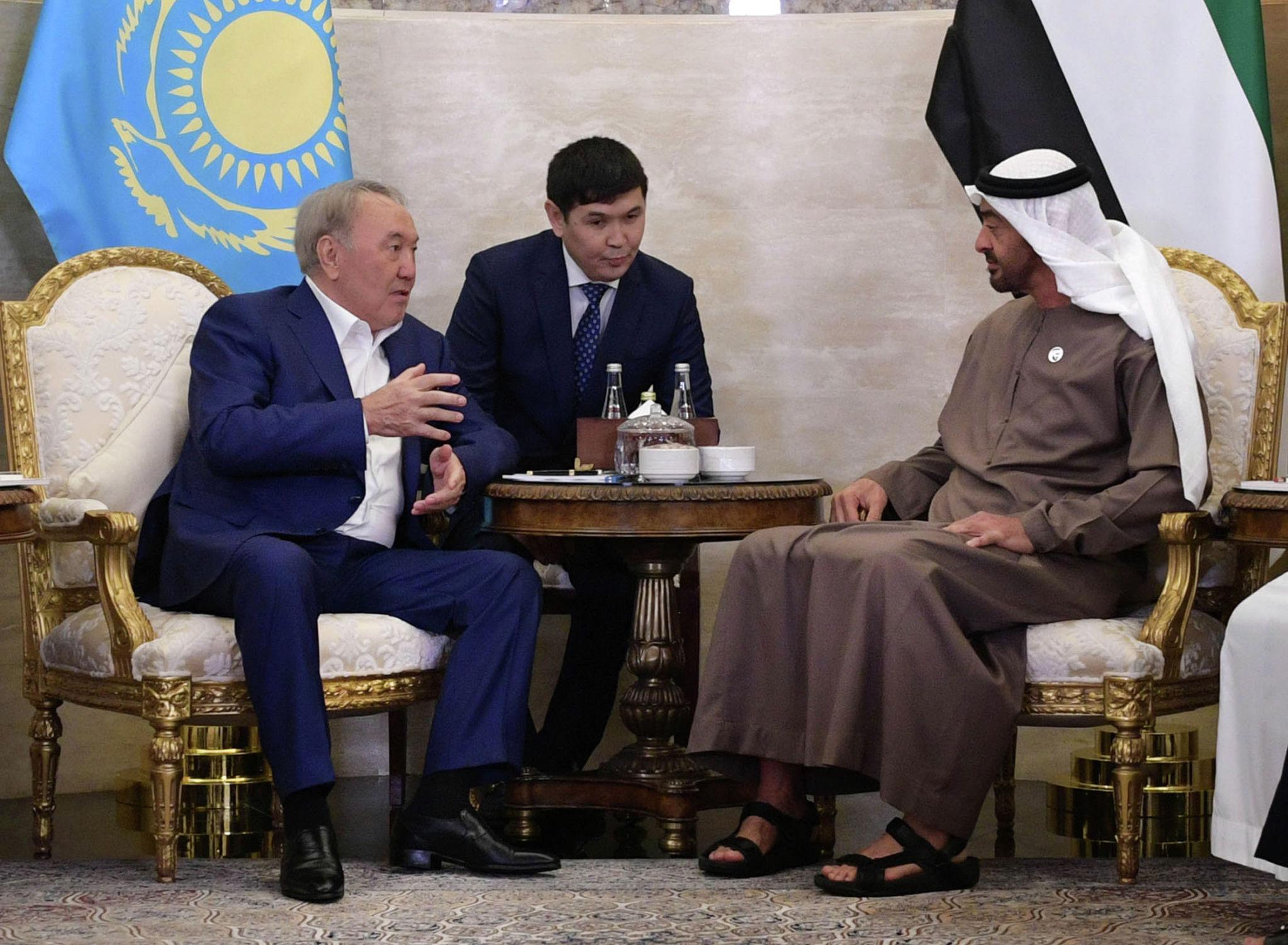 Рабочий визит Нурсултана Назарбаева в Объединенные Арабские Эмираты