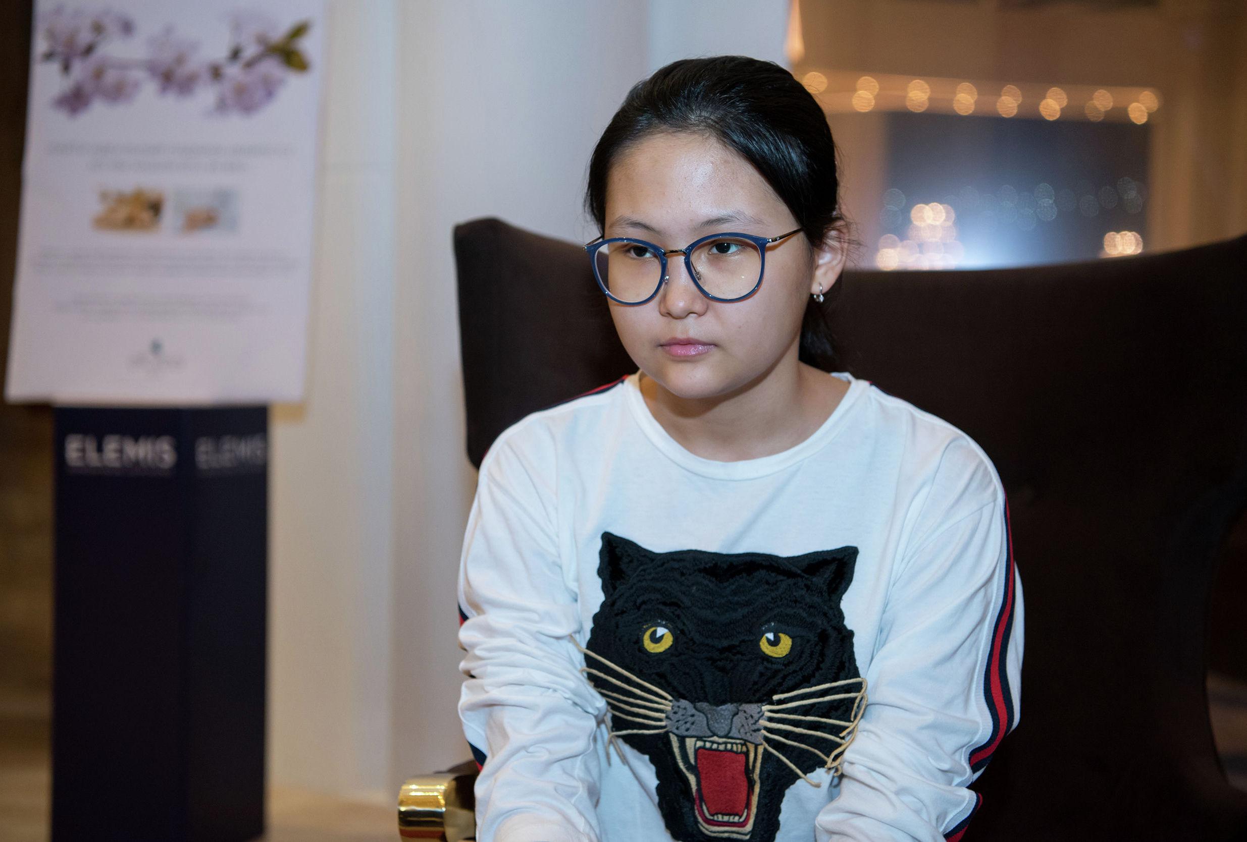 Казахстанская шахматистка Бибисара Асаубаева