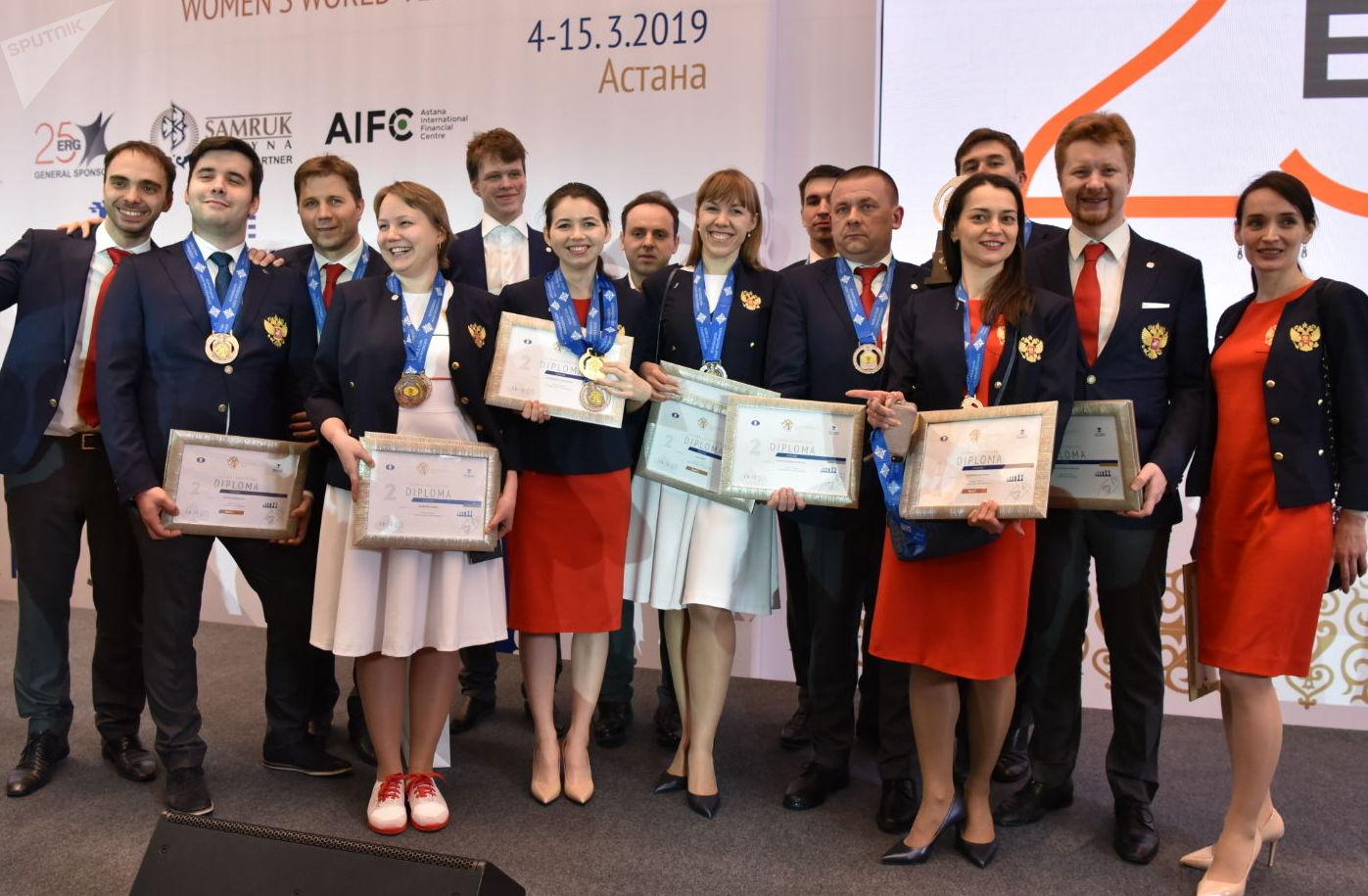 Чемпионат мира по шахматам в Астане