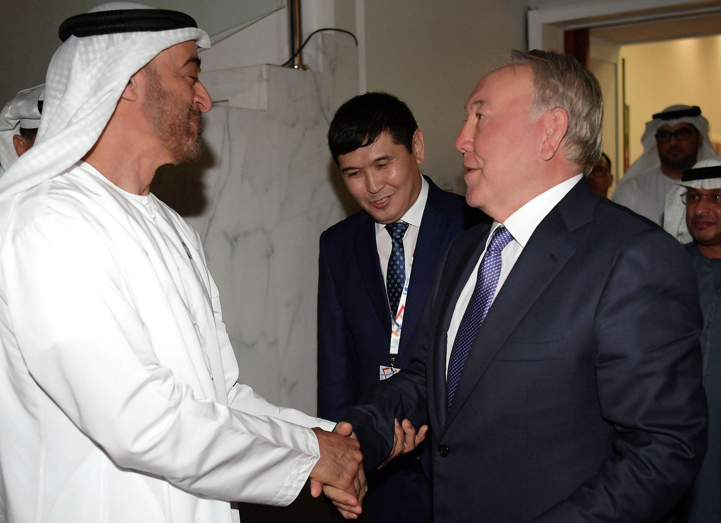 Президент Назарбаев принял участие в церемонии открытия Всемирных Специальных Олимпийских игр в Абу-Даби