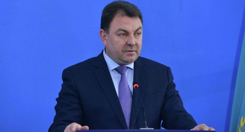 Заместитель министра внутренних дел Казахстана Юрий Ильин