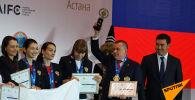 Улыбки победителей: кто забрал медали чемпионата мира по шахматам