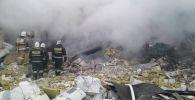Взрыв газового баллона в здании компании МолПродуктсервис по шоссе Алаш в Астане