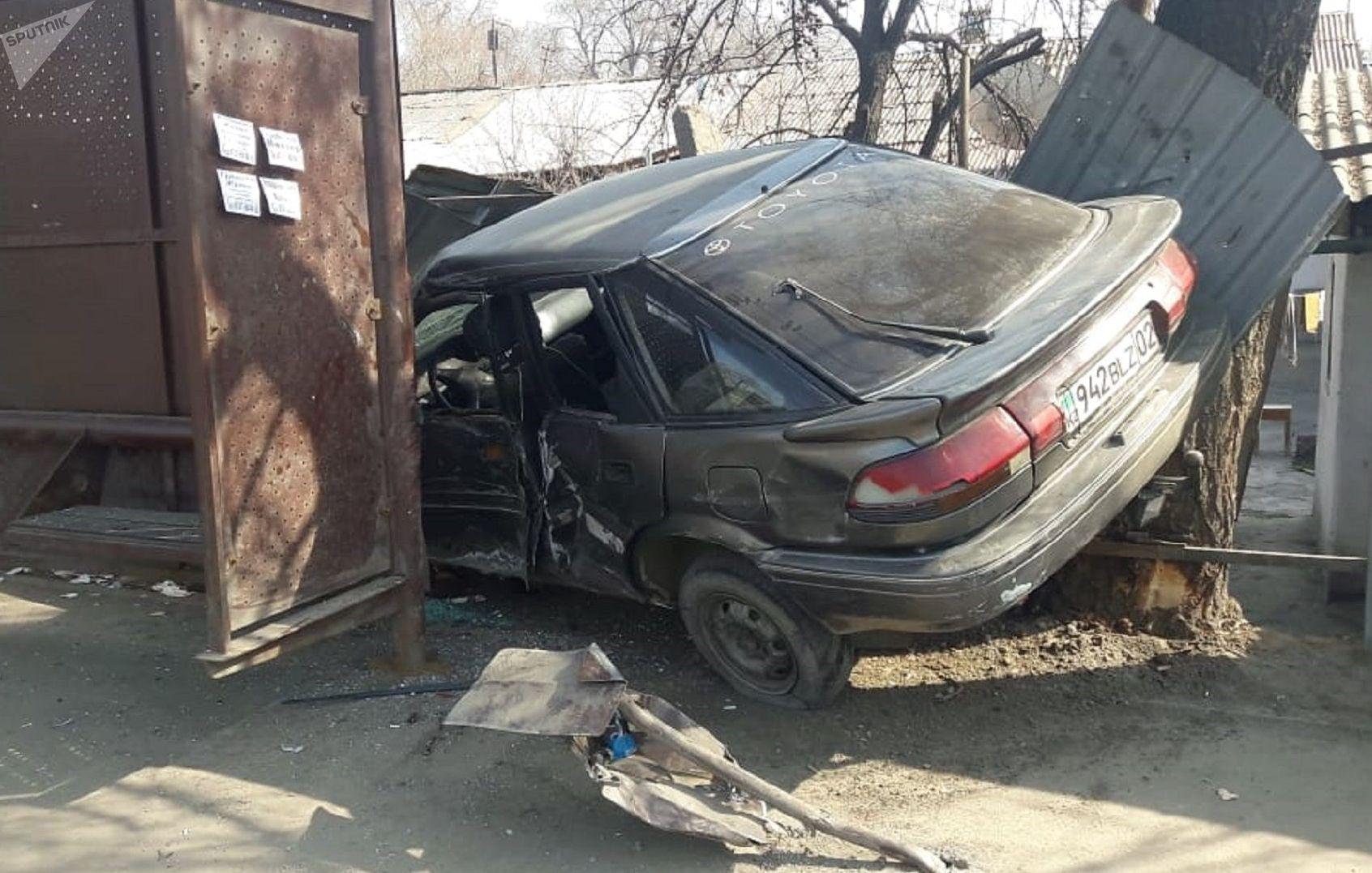 ДТП произошло по улице Татибекова