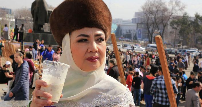 В Алматы начались праздничные гуляний в честь Наурыза