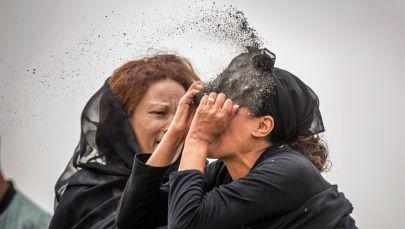 Родные жертв авиакатастрофы в Эфиопии
