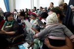 Встреча с многодетными матерями и матерями, которые воспитывают детей-инвалидов в офисе Нур Отан