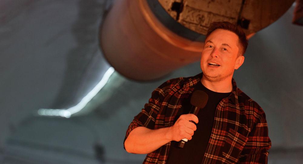Американский изобретатель Илон Маск