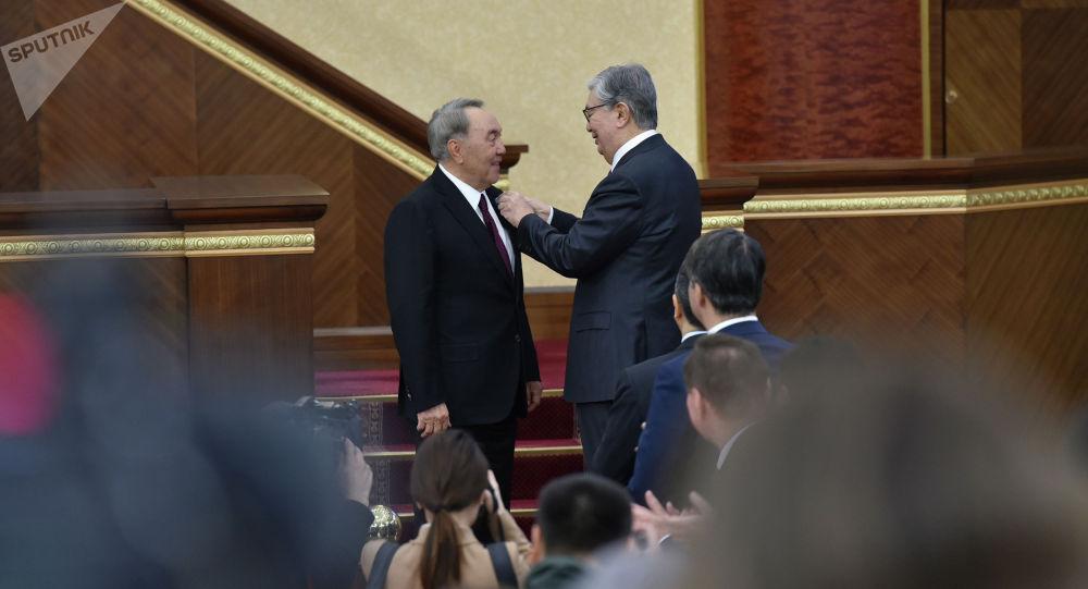 Назарбаев пен Тоқаев