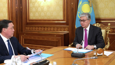 Президент Казахстана Касым-Жомарт Токаев встретился с премьер-министром Аскаром Маминым