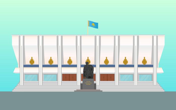 Театр драмы им. Ауэзова в Алматы