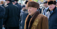 Первый президент Казахстана Нурсултан Назарбаев появился на празднике в чапане