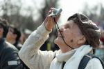 Пожилая женщина, архивное фото