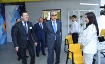 Президент РК Касым-Жомарт Токаев с рабочей поездкой в Туркестане