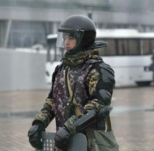 Полицейский, архивное фото