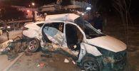 В аварии погибли девушка и маленький ребенок