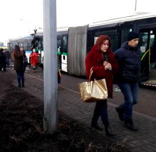 Смертельное ДТП с автобусами в Нур-Султане (Астане)
