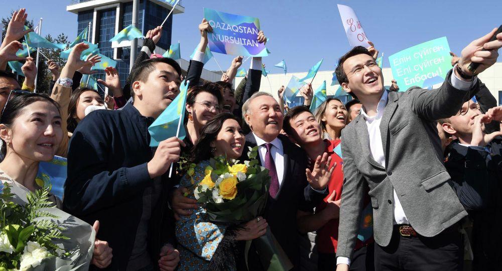 Первый президент Казахстана – Елбасы Нурсултан Назарбаев прибыл в Алматы
