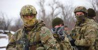 Украинские военнослужащие, архивное фото