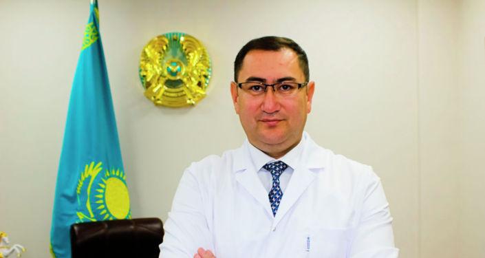 Главный врач городской станции скорой медицинской помощи Тимур Муратов