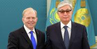 Президент Касым-Жомарт Токаев поздравил посла США Уильяма Мозера с официальным началом дипломатической работы