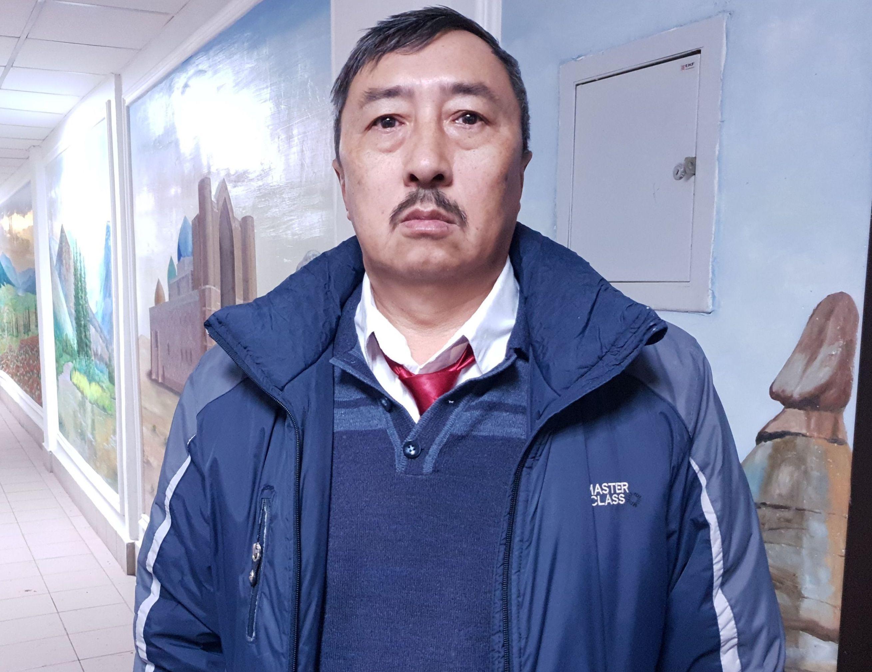 Водитель автобуса Кахарман Иманбаев