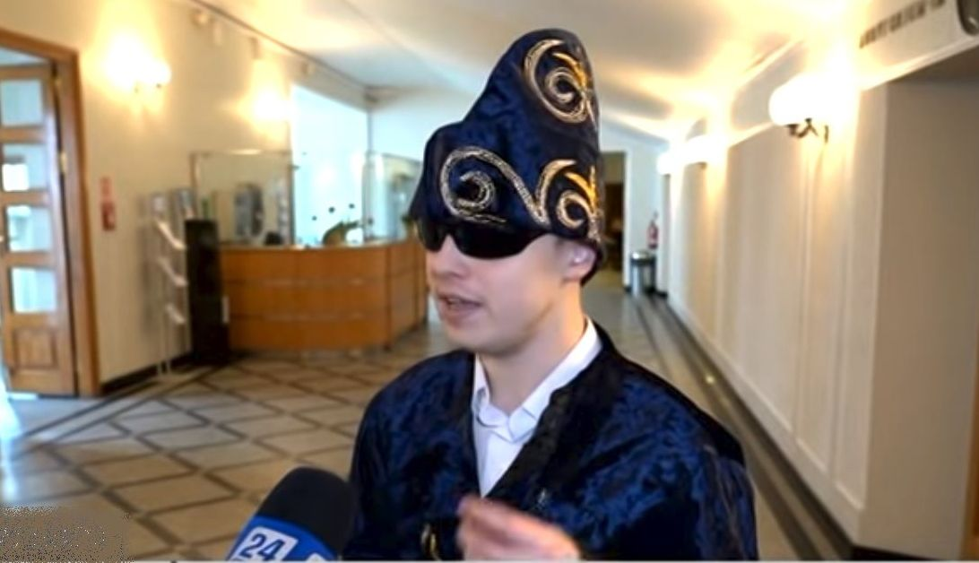 Докторант Варшавского университета Вячеслав Чернев