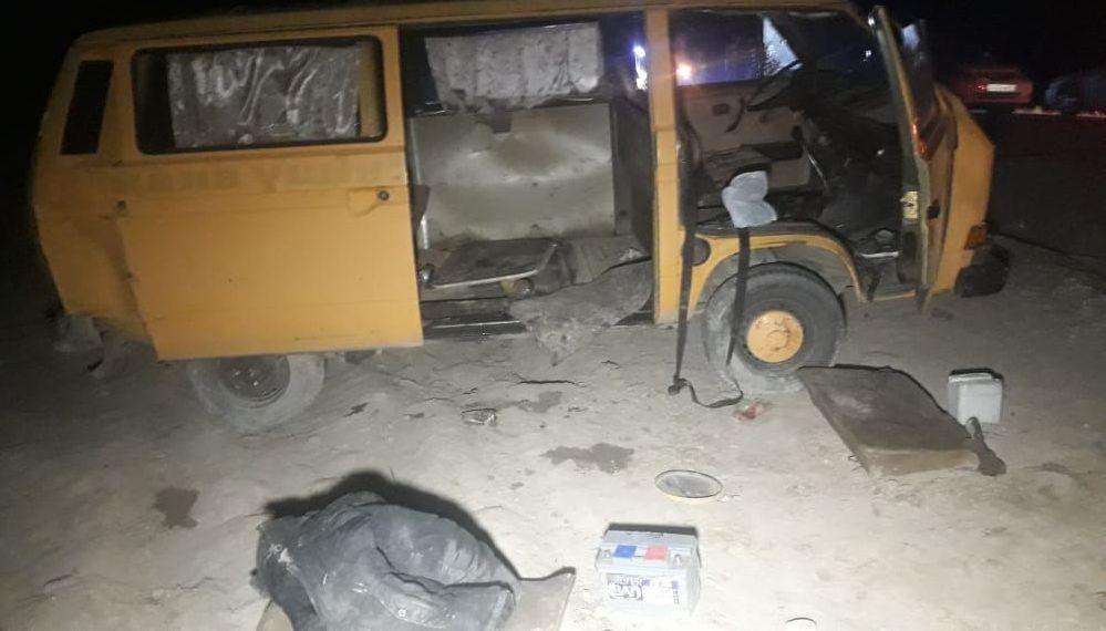 Микроавтобус перевернулся в районе ТЭЦ-2: семь пассажиров пострадали, водитель погиб