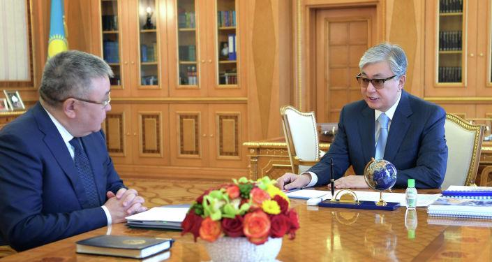 Президент Казахстана Касым-Жомарт Токаев принял председателя Высшего судебного совета Талгата Донакова