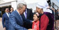 В селе Шамалган Алматинской области Нурсултан Назарбаев встретился с местными жителями