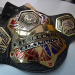 Чемпионский пояс M-1 Global Шавкат Рахмонов